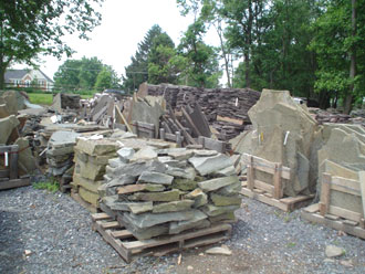 Country Nursery Rock Pile
